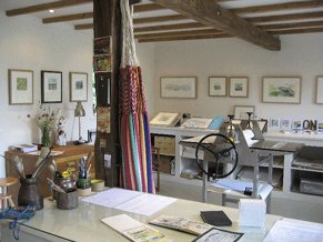 Print Workshop during Art Tour